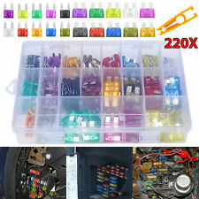 220PCS Blade Fuse Assortment Auto Car Truck Replacement Fuse Kit ATC ATO ATM US