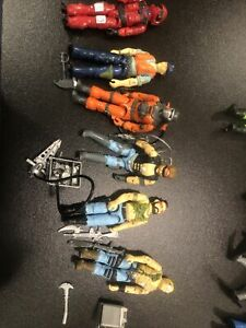 Vintage Lot Of 6 GI Joe Action Figures 1984, 85