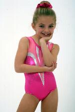 Hot-Pink Girls gymnastics leotard Size 38 - AL -