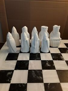 Medieval II, Chess set latex moulds