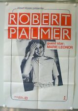 ROBERT PALMER - ORIGINAL POSTER – GUEST STAR MARIE LEONOR – VERY RARE - 1980/81