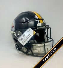 Pittsburgh Steelers Game Used/Worn 42 Sutton Smith 2019 Season Helmet