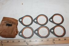 6 Fire Ring Exhaust Gaskets Harley-Davidson Shovelhead 1966-1984 Free Shipping