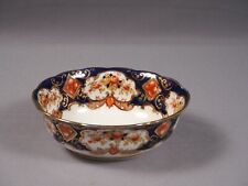 Royal Albert Crown China Heirloom IMARI Open Sugar Bowl COBALT BLUE