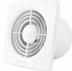 Hon & Guan 6 Inch Home Ventilation Fan Bathroom Garage Exhaust Fan Ceiling