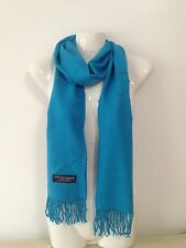 100% CASHMERE SCARF MADE IN SCOTLAND PLAIN DESIGN SUPER SOFT UNISEX