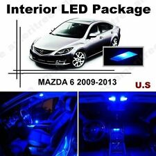 Blue LED Lights Interior Package Kit for Mazda 6 2009-2013 ( 7 Pieces )