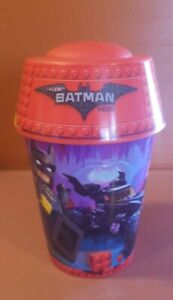McDonalds The Lego Batman Movie Happy Meal Toy Drinking Cup with Lid 2017