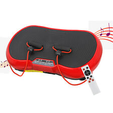 Red Vibration Platform Plate Slim Whole Body Exercise Fitness Massager Machine