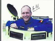 German Sts-122 Astronaut Hans Schlegel Autograph,Hand Signed