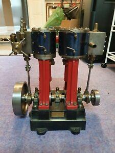 Live steam engine, Vertical Cross Compound Marine