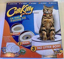 CitiKitty As Seen on Shark Tank Cat Toilet Training Kit W/ Catnip