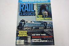 Rail Classics Magazine November1983 Vol.12 - No.6