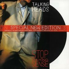 CD Talking Heads- stop making sense Special new edition 724352245321