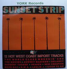 SUNSET STRIP - 10 Hot West Coast Import Tracks - Ex Con LP Record Macola STRIP 1