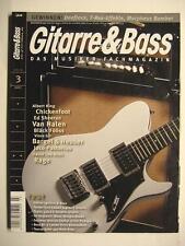 Guitarra & Bass 2012 # 3-Albert King Chickenfoot Van Halen Jaco Pastorius Rage