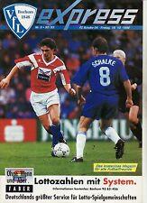 BL 92/93 VfL Bochum - FC Schalke 04