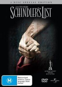 Schindler's List - 2-Disc Special Edition..REG 4..NEW & SEALED  V6