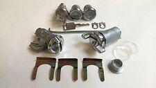 1970 - 1977 Chevelle Malibu Lock Cylinder Set Ignition Door Trunk Glove Box Keys