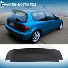 For 92-95 Honda Civic 3DR EG EH Spoon Duckbill Style Rear Roof Spoiler Wing