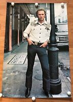 """""""Bronco Billy"""" Clint Eastwood 24 1/4"""" x 36 1/2 """"Color Poster-Scotland-1980"""
