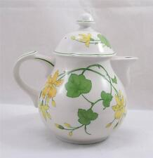 Villeroy & and Boch GERANIUM tea pot - UNUSED - teapot