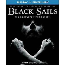 Black Sails The Complete First Season Blu-ray Season 1 3 Disc