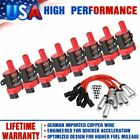 D585 Ignition Coil Spark Plug Pack For Chevy Silverado GMC LS1 LS3 4.8 5.3L 6.0L