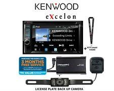 "New listing Kenwood eXcelon Ddx595 6.2"" Wvga Dvd Receiver w/ SiriusXm Tuner & Back Up Camera"