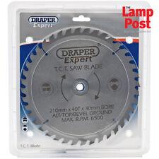Draper Expert 09477 Circulaire Mitre Lame Scie 210 mm x 30 mm Diamètre x 40 T