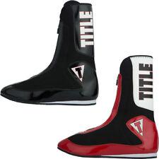 Title Boxing elevar enfurece a ligero de alto Zapatos de boxeo