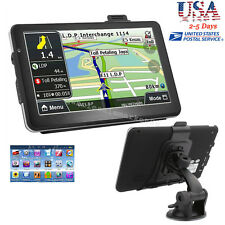 "7"" HD Touch Screen CAR TRUCK 4GB GPS Navigation Navigator SAT NAV"