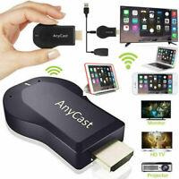 Mirascreen 1080P Wireless Wifi TV Dongle Receptor de medios Airplay Miracast