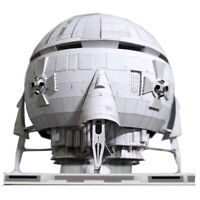 A Space Odyssey Aries 1B Moon Bus Shuttle Handcraft Paper Model  zi√