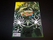SIGNED ERIC POWELL BIG TROUBLE IN LITTLE CHINA #4 JACK BURTON REGULAR COVER 1PR