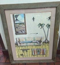 "David Bradley ""Awakening From A Dream"" Signed Lithograph 37/70 Framed"