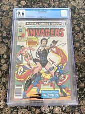 Invaders #17 CGC 9.6 Nazi Warrior Woman Captain America Marvel Comics 1977