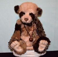 "Charlie Bear Mohair Panda Isabelle Masterpiece 2011 22"" Stunning Example"