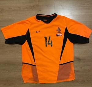 Netherlands Holland Match worn Jersey Andre Ooijer Size L, Holland-Austria 2003