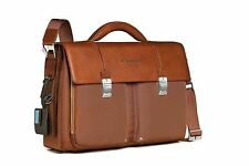 Piquadro Link Brown Organized briefcase with two gussets CA1044LK/CU