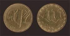 SAN MARINO 20 LIRE 1976 IL LAVORO FDC/UNC FIOR DI CONIO