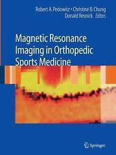 Magnetic Resonance Imaging in Orthopedic Sports Medicine (2010, Paperback)