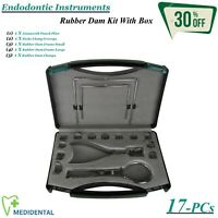 Range Of Endodontie Instrumente Kofferdam Zangen / Rahmen Dental Handinstrumente