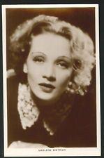 Postcard - Marlene Dietrich - Actress