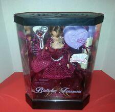 "Fashion Corner January Birthday Treasures Limited Edition 11.5"" Fiber Optic Doll"