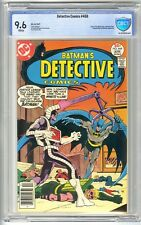 DETECTIVE COMICS #468 MAR-APR 1977 CBCS 9.6 NM+ WHITE  NOT CGC MARSHALL RODGERS