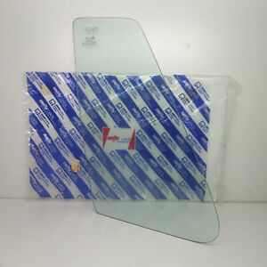 Glass Fixed Triangular Athermic Rear Left Fiat Uno Original 5960557