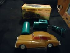 VINTAGE MARX BATTERY OPERATED REMOTE CONTROL ROLLS ROYCE IN ORIGINAL BOX