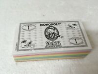NEW Patriots Collector's Edition Monopoly Replacement MONEY Sealed FREE SHIPPING