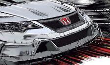 Honda Civic Type R - Art 30x14 Inch Canvas - Framed Picture Print JDM